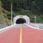 一般国道186号道路改良工事(防鹿西側工区) / 平成29年 8月