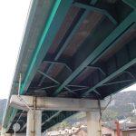 一般国道186号翠橋橋梁補修工事 / 平成28年 2月