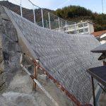 阿多田地区急傾斜地崩壊対策工事(2区)大倉邸裏 / 平成23年 11月
