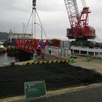 第二種漁港阿多田漁港水産物供給基盤機能保全事業浮桟橋補修工事 / 平成25年 6月